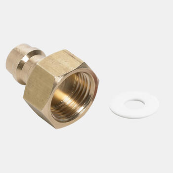 WAECO COMP-ADAPT - Connection adapter with seal, for R134a refrigerant bottle